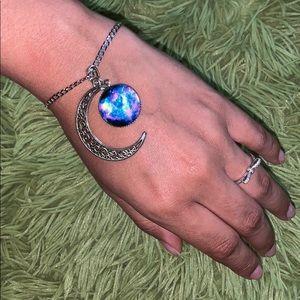 Moon Crescent Bracelet / Necklace